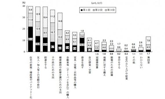 平成24年度「団塊の世代の意識に関する調査結果」(内閣府)より